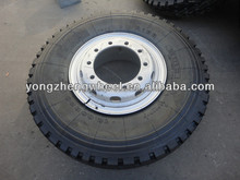 Annaite 11r22.5 truck tyre with wheel rims 22.5x8.25