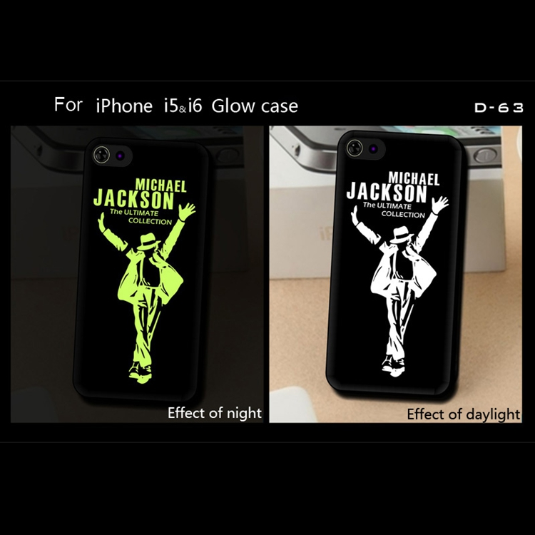 Mobile Phone Accessories For iPhone 4 4S Glow TPU Sof Case