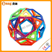 Over 10 years manufacturer experience brand new plastic magnetic building toys