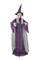 Halloween standing animation witch