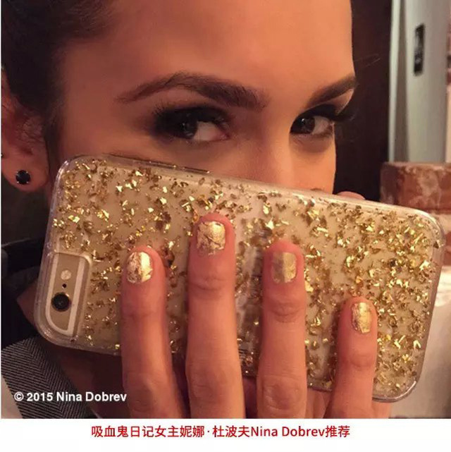 Mobile phone accessories Bling Glitter cell phone accessory for iphone 7/7 plus
