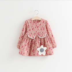 W71914G 2016 new fashion the summer baby cotton frocks designs doll collar fancy dresses for baby girl