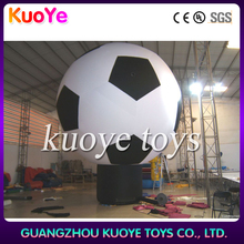 Giant Inflatable ground football,Inflatable advertising cold air big balloon,For advertising inflatable balloon
