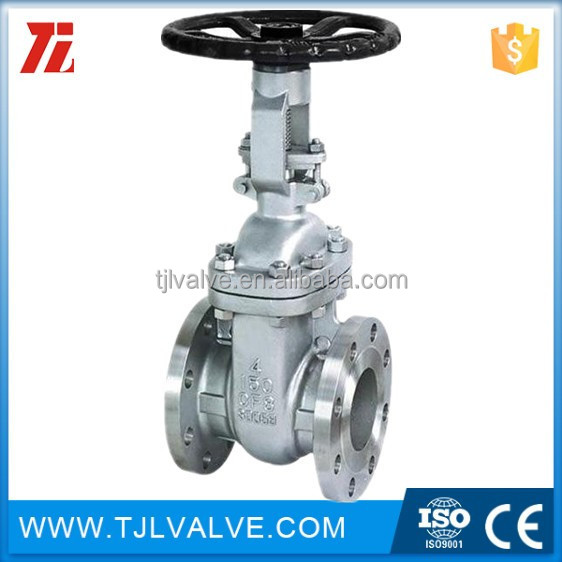 DIN stainless steel din flange dimensions stem gate valve china supplier CE CER Water