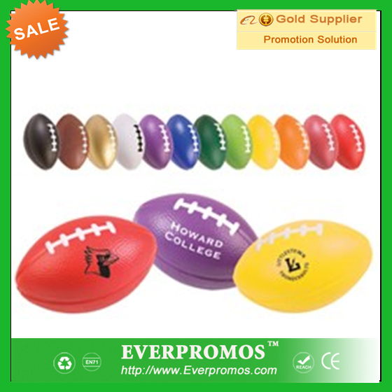 Custom Logo rugby stress <strong>ball</strong> for promotion and stress reliever