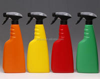 16oz colorful Hdpe Plastic Packaging Spray Bottle For Liquid Detergent trigger sprayer
