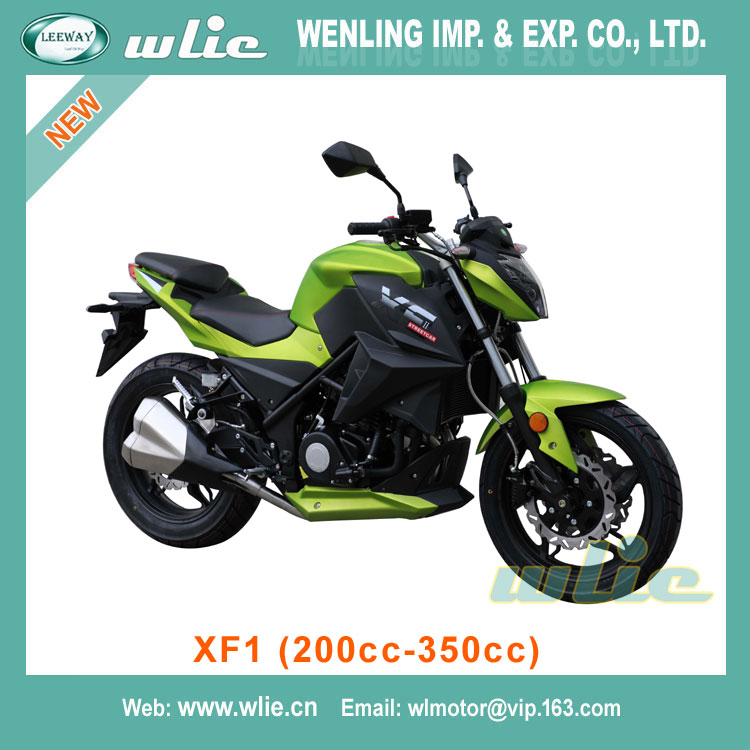 Top quality endure electric kids motor bike economical CHEAP Street Racing Motorcycle XF1 (200cc, 250cc, 350cc)