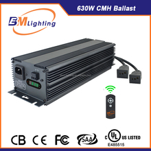 low frequency square wave 630w cmh electronic ballast for hydroponics