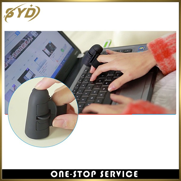 Creative design 2.4G wireless Finger mouse lazy mini computer mouse