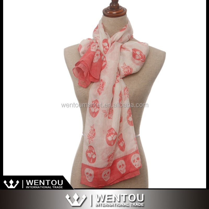 Woman Wrap Fashion Scarf Printed Scarf
