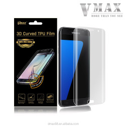 2016 hot selling premium mobile accessories for samsung galaxy s7 edge curved screen protector OEM