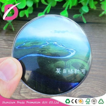 Tourist souvenir glass refrigerator for gift customization/Scenic Mo Ri River Spengler