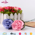 Wholesale wedding decoration artificial pre made ribbon flower