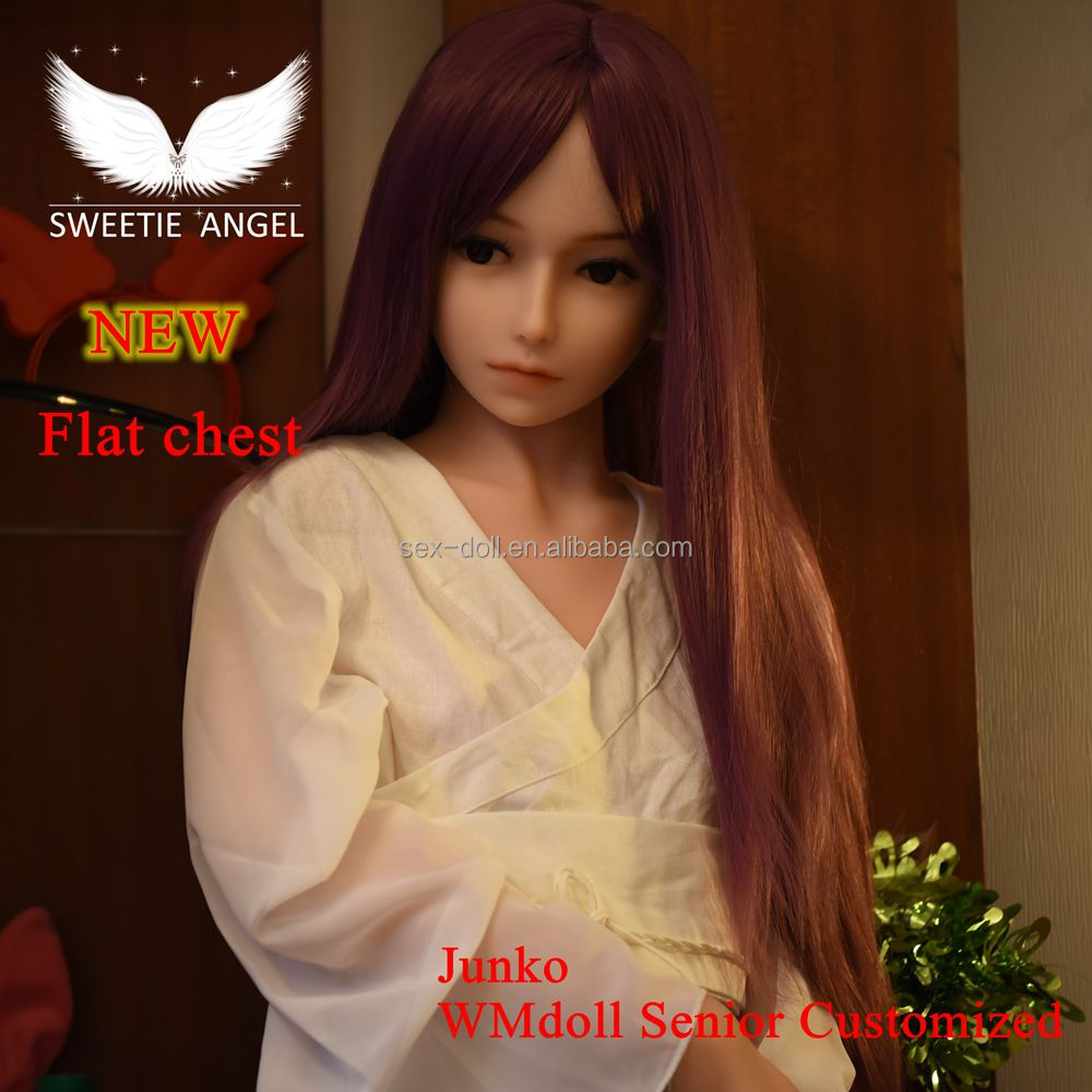 Sweetie angel sex doll 158cm <strong>flat</strong> chest love doll with skeleton doll for men Oral doll full silicone doll adult toys for men
