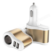 dc cigarettes car charger cable 12 V 24V Cigarette Lighter 5V / 2A car charger