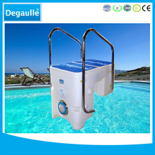 Uncredible wall-hung pipeless swimming pool filter and pump cartridge