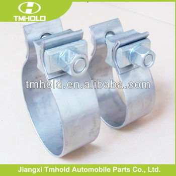 stainless steel heavy duty muffler exhaust pipe clamp