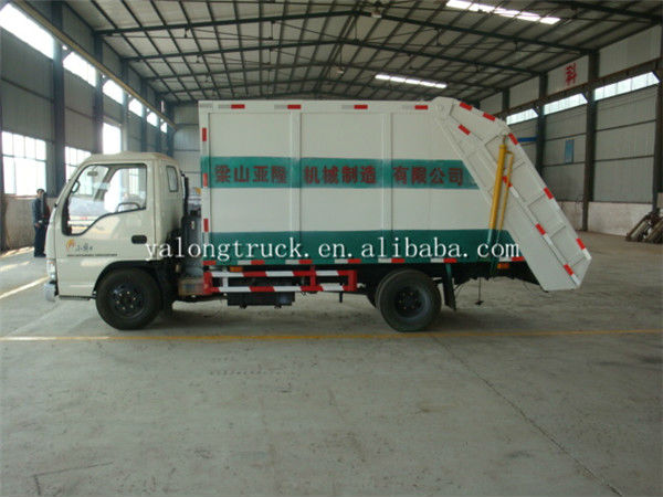 Chian trailer factory garbage truck made by steel