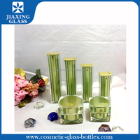 Promotional cosmetic airless pump bottle square cosmetic container