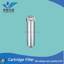 Cartridge filter housing/ stainless steel 304 316L water filter housing for food/wine/medicine