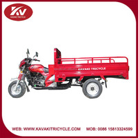 Wholesale red good quality fashion air-cooled / water-cooled trike 3-wheel motorcycle