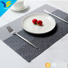 Waterproof wholesale individual custom made kitchen pvc table mat plastic placemat