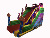 Hot sale tropical inflatable bounce Slide inflatable bouncer Kids jumping Outdoor