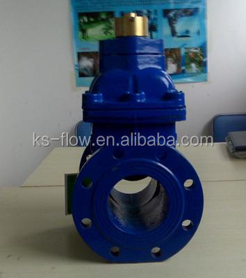 4 inch Resilient Industrial Seat rising stem Gate Valve pn16