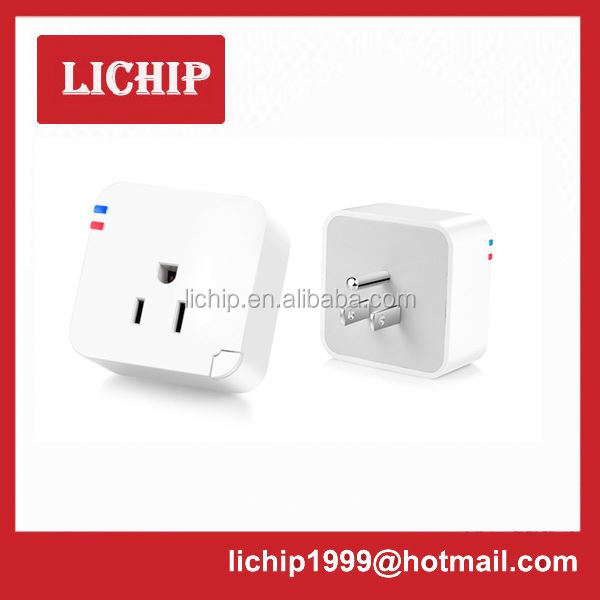smart home automation system high-current power plug