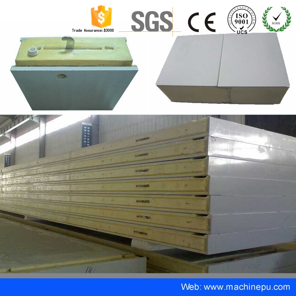 100mm Pu Customized refrigeration Cold Room Panels used