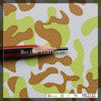 MRD2885 quilted dye wholesale faux leather fabric PVC leather factory for school bag and wallet