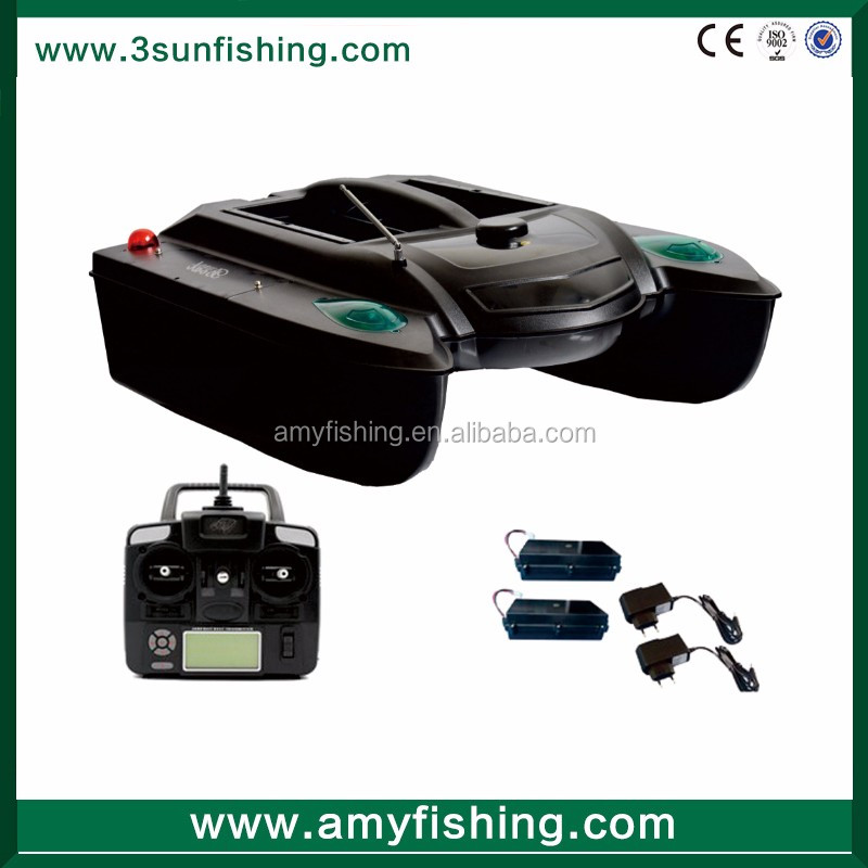 3SUN- 5CG RC Fishing Bait Boat with GPS / Fish Finder / Casting Remote Controller model boats for sale