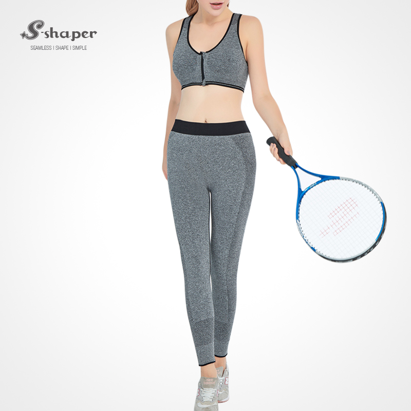 S-SHAPER New Fashion Women Yoga Suit Pants Sports Bra Sportswear Set