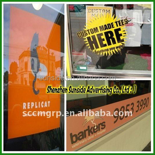 Custom Die Cut vinyl decals for Car,vinyl stickers with top release paper