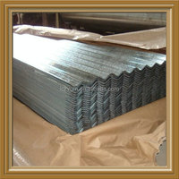 Galvanized corrugated metal roof sheets