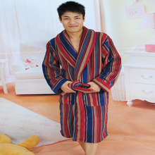 SPA ,HOTEL microfiber fleece bathrobe arab robe men