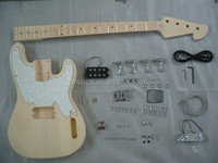 PROJECT ELECTRIC GUITAR BASS BUILDER KIT DIY WITH ALL ACCESSORIES( K27)