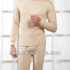 Heated thermal Underwear For men long cotton winter long john