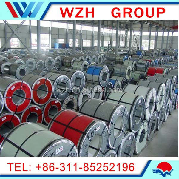 All Ral Color Prepainted Steel Coil PPGI/GI Manufacturer From Hebei