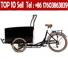 Chinese Aluminum Tricycle Three Wheel Wagon Trailer Used Cargo Bikes