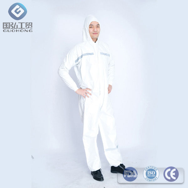 Non-Woven and PP Coverall Clothing Seven years production experience