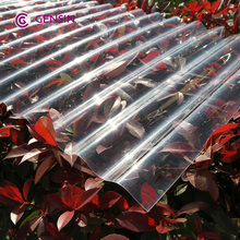 Lixin 0.9mm corrugated polycarbonate sheet