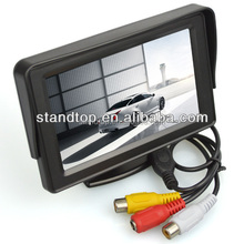 DC12V 4.3 inches TFT Car Monitor with RCA connector