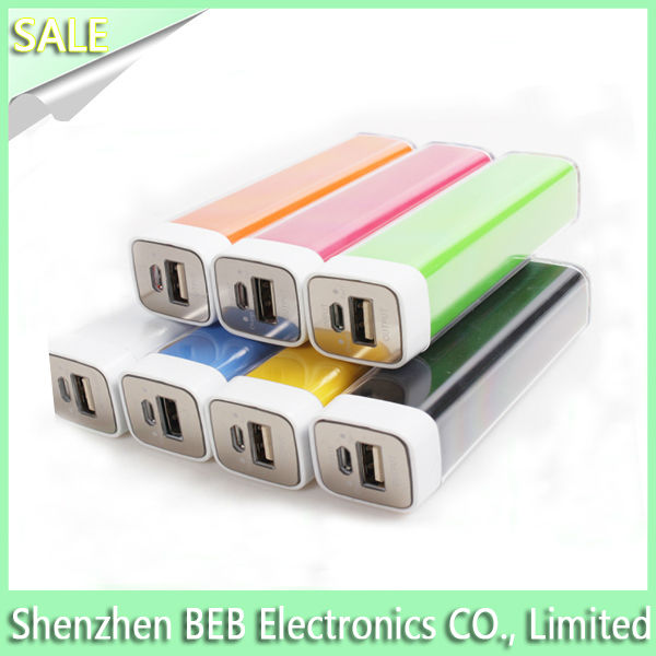 Wholesale 2600mah instant mobile phone charger in stock