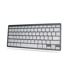 White Bluetooth Wireless Keyboard Keypad Slim For Apple Windows iPad Laptop PC
