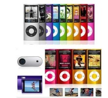 5th Gen Wheel Scroll 16G MP4/MP3 Music Player 2.2 inchTFT screen Video Radio FM HD Camera digital