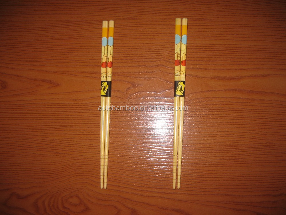 High quality bamboo chopsticks tableware process