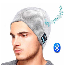 High Quality Custom Headphone Bluetooth Earphone Hat Bobble Beanie