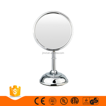 Simple classic 8-inch flexible metal chrom 1x 3x standing mirror bedside table beauty salon mirrors