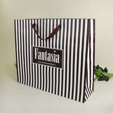 recycled shopping paper bag with logo print and making machine